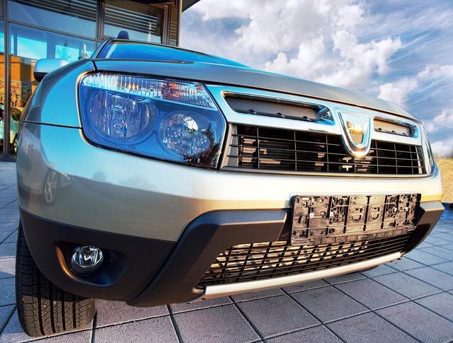 Dacia - detail předku