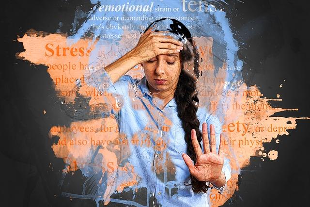 stres úzkost deprese