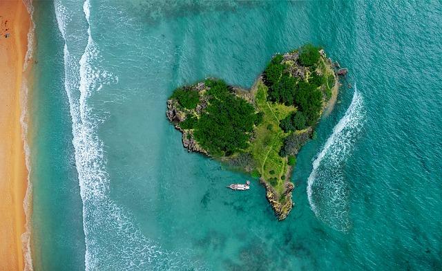 ostrov srdce