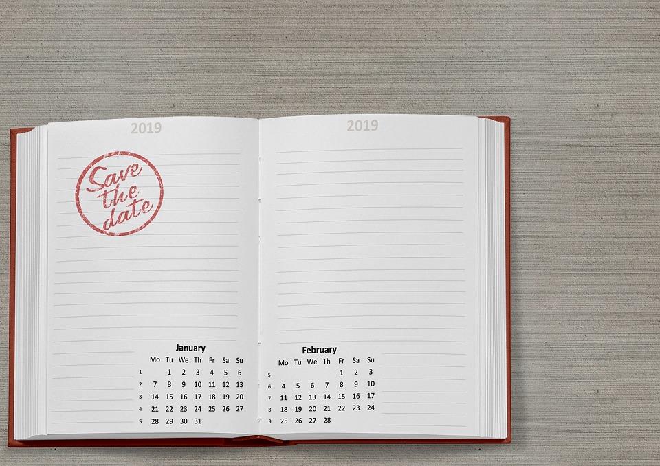 razítko v kalendáři